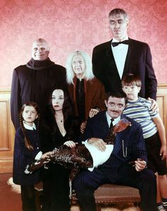 Happy Thanksgiving from The Addams Family to yours!