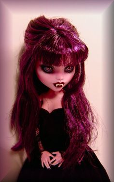 Monster High Custom Doll Repaint