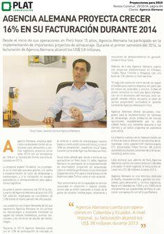 Agencia Alemana: Proyecciones para 2014 en la revista Construir de Perú (29/10/14)