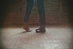 Tippy toes, love, kiss