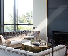 enjoying the mix of classic and contemporary by Erin Martin Design