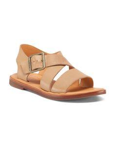Nara+Flat+Leather+Sandals