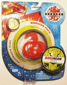 Anyone remember this one??   Bakugan ABIS OMEGA Clear Red Pyrus Battle Brawlers Booster Pack B3 BAKUNEON MISP #Spinmaster #Bakugan #Cyberontix