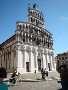 Summer 2011 - Cathedral in Lucca, Italy