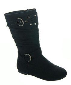 Tween Week: The Rocker Girl | Daily deals for moms, babies and kids, rocker boots, black boots #zulily