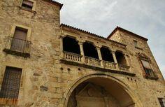 Palacio de Juan Orellana Pizarro en Trujillo en Extremadura