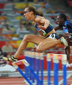 Lolo Jones, the epitome of determination, perseverance, determination, and grit.  After a disastrous fall in the 2008 Summer Olympics during a hurdle race for which she was marked the favorite, she is back in 2012 stronger than ever, ready to take on the world.  Lesson:  Use defeat to make yourself stronger.