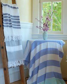 LAUREN Ralph Lauren Hand Towel Avenue Agave Black New Cotton USA Soft Dorm Camp