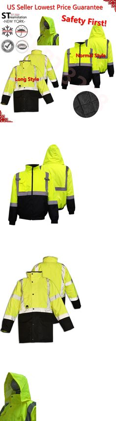 Business & Industrial Friendly Portwest Hi Vis Bomber Jacket High Visibility Waterproof Coat Jacket Viz Xs-5xl Customers First