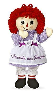 """Aurora World Raggedy Ann Friends Are Forever Doll, 10"""" Au... http://www.amazon.com/dp/B00B4WJ6BW/ref=cm_sw_r_pi_dp_lpZrxb12R3FT2"""