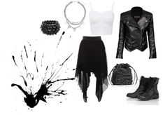 """""""Tough Chick"""" by darlindarling on Polyvore"""