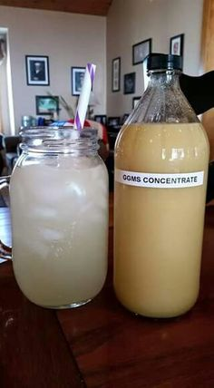 THM Good Girl Moonshine Concentrate....Directions: Old ACV bottle.  2 2/3 cups ACV,  1 1/3 cups fresh ginger juice, 18 doonks of Stevia.  This is based on 2 tbl of ACV 1 TBL ginger juice and 1 doonk stevia X 18 is what fits in a qt size bottle.  I was also able to squeeze in 1 bottle (2oz) of extract but you could easily add the extract as you make your drink especially if you like variety. Use 3 Tbsp of concentrate per ggms