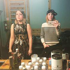 Corin Tucker & Carrie Brownstein- my wannabe besties