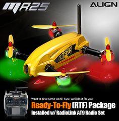 Align MR25 Racing Quad RTF W RadioLink AT9