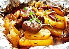 You've got new ideas waiting for you! No Salt Recipes, Pork Recipes, Cooking Recipes, Pork Tenderloin Recipes, Hungarian Recipes, Food 52, Entrees, Good Food, Food And Drink