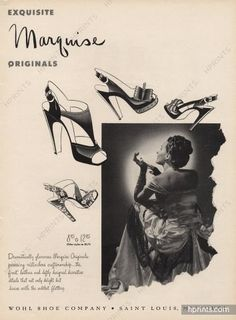Wohl Shoe Company (Shoes) 1945 Marquise