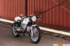 BMW R100 Cafe Racer - V Custom Cycles - Retro Write Up