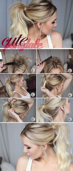 Best Hairstyles For Your 30s -Cute Ponytail- Hair Dos And Don'ts For Your 30s, With The Best Haircuts For Women Over 30, Including Short Hairstyle Ideas, Flattering Haircuts For Medium Length Hair, And Tips And Tricks For Taming Long Hair In Your 30s. Low Maintenance Hair Styles And Looks For A 30 Year Old Woman. Simple Step By Step Tutorials And Tips For Hair Styles You Can Use To Look Younger And Feel Younger In Your 30s. Hair styles For Curly Hair And Straight Hair Can Be Easy If You…