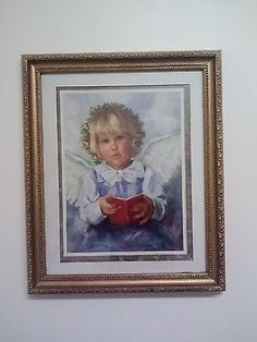 Home Interior Picture Little Angel Holding Household