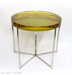 Lens table by McCollin Bryan