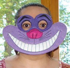 Cheshire Cat Halloween Costume Mask  Fits Children and by kazcona, $65.00