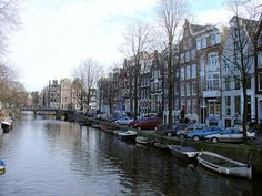 """Amsterdam's fabled canals - the """"Venice of the North"""" #photography @Viking River Cruises"""