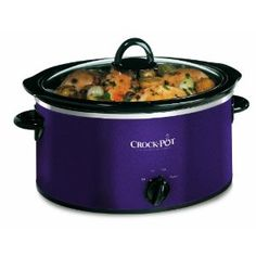Crock-Pot 3.5L Slow Cooker Limited Edition Aubergine
