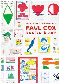 ポール・コックスの日本初となる作品集。 アートディレクションはホッチキスの水口克夫さんと金子杏菜さんです。 出版社: パイインターナショナル 2017年8月出版 定価 (本体2,900円+税) (↓購入サイトへは表紙画像クリック頂くとジャンプします。)