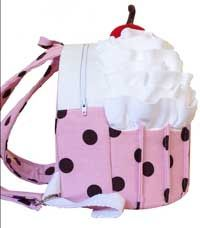 Cozy Cupcake Backpack Pattern in PDF - cute backpack pattern for kids!