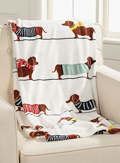 Doxie throw