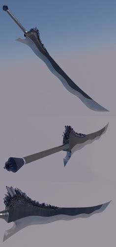 Adolin's Shardblade by David Fonti