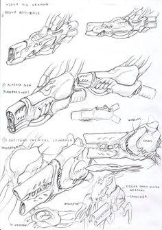 Glorlons heavy weapons by TugoDoomER.deviantart.com on @DeviantArt