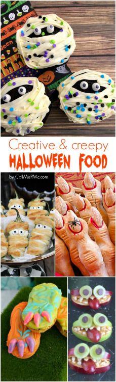 Creative Creepy Halloween FoodReally nice recipes. Every  Mein Blog: Alles rund um Genuss & Geschmack  Kochen Backen Braten Vorspeisen Mains & Desserts!