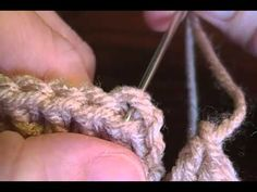 How to tie in those pesky tails when crocheting or switching colors the smooooth way