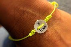 LOVE <3 handmade Bracelet Sterling Silver NoNa-NoNa