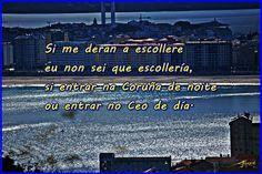 Vivir na Coruña. by Jomazul Varela