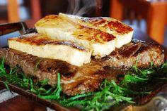 Carne de sol com queijo de coalho