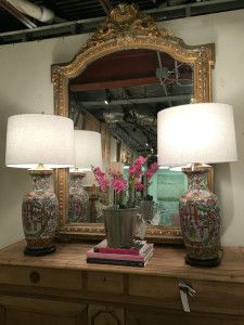 Great large antique mirror!