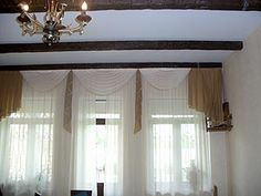 Living Room Curtains Valance Curtains, Curtains Living, Contemporary, Modern, Living Room Furniture, Living Room Designs, Interior, Table, House