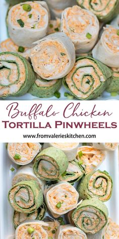 Buffalo Chicken Tortilla Pinwheels The totally irresistible flavor of Buffalo chicken wings all rolled up into a portable party snack. These Buffalo Chicken Tortilla Pinwheels are guaranteed to be a hit at your next. Healthy Appetizers, Appetizers For Party, Appetizer Recipes, Healthy Snacks, Superbowl Party Food Ideas, Cream Cheese Recipes Dinner, Birthday Appetizers, Chicken Appetizers, Potluck Recipes