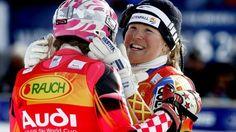 Ski alpin: Die knappsten Weltcup-Entscheidungen der Damen ...