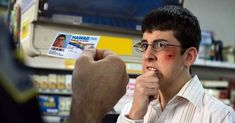 Does showing your driver's license to buy alcohol reveal too much about you? Showing your ID to buy alcohol may seem harmless, but in an age. Mclovin Superbad, Famous Movies, Good Movies, Movies Showing, Movies And Tv Shows, Star Trek 2009, Memes, Tv Shows, Poster Vintage