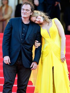 Star Tracks: Monday, May 26, 2014 | LEAN ON ME | Quentin Tarantino and Uma Thurman buddy up at the Clouds of Sils Maria premiere during the 67th Annual Cannes Film Festival – where Pulp Fiction is getting a special celebration – on Friday in Cannes, France.