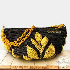 #crochet #crochetbag #anthracitegrey#yellow #crochettote #totebag #marketbag #handmade #handmadebags #largebag #largetotebag #crochetraffiabag #raffiahandbag #bagsandpurses #onlinebags #crochetshoulderbag #crossbodybag #crochethandbag #bags #handbags #purses #totes #3dcrochet #embossedcrochet #embossedleaf #3dleaf #crochetleafbag #handwoven #wovenbag #raffiabag #simartshop Crochet Bags, Crochet Gifts, Etsy Handmade, Handmade Gifts, Dream Studio, Crossbody Bag, Tote Bag, Handmade Clothes, Craft Items