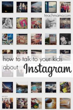 how to talk to your kids about instagram | SUPER resource for teachers and administrators to share with parents. what parents MUST know about instagram.