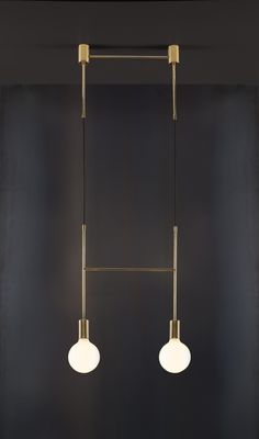 Metallic, minimal lighting with an unexpected twist - The Interiors Addict
