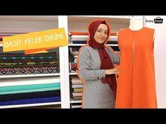 Yeni Başlayanlar için Basit Yelek Dikimi Nebihan Akça - Easy Vest Sewing for Beginners Nebihan Akça Baby Booties Knitting Pattern, Baby Knitting, Knitting Patterns, Amigurumi For Beginners, Knitting For Beginners, Sewing Tape Measure, Sewing Labels, Hijab Chic, Fashion 2020