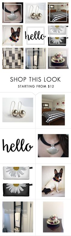 """""""Hello From Etsy !"""" by jarmgirl ❤ liked on Polyvore featuring Rustico, Caso and vintage"""