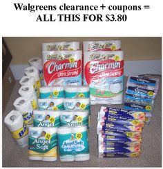 Walgreens clearance + coupons = lots of FREE stuff!