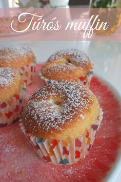 Muffin, Doughnut, Food, Candy, Essen, Muffins, Meals, Cupcakes, Yemek